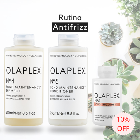 Rutina Antifrizz Olaplex - Olaplex Uruguay - Tienda On Line