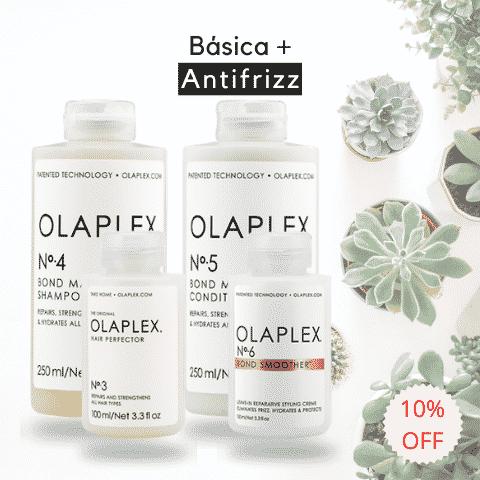 Rutina Básica y Antifrizz Olaplex - Olaplex Uruguay - Tienda On Line